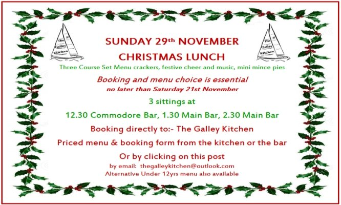 Christmas Lunch Website