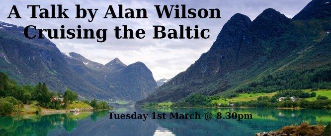 Cruising the Baltic Alan Wilson